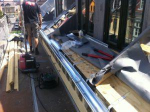 Tømreren fra Dyreborg er godt i gang