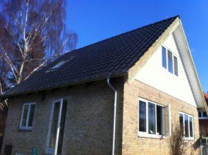 Tagarbejde af Dyreborg Tømrer